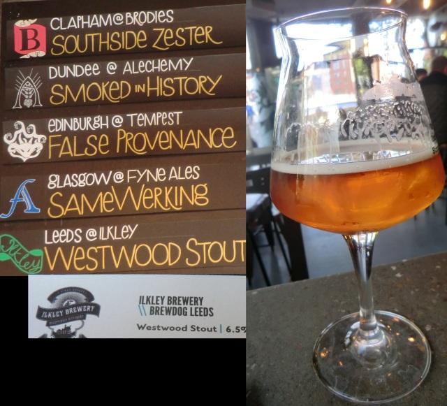 ilkley brewdog westwood stout