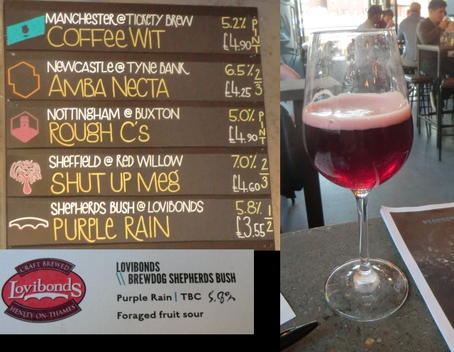 Lovibonds Brewdog Purple Rain